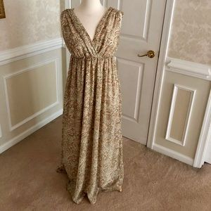 H&M bohemian maxi dress - size 8